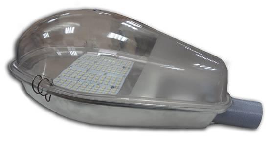 Консольный уличный светодиодный светильник 9000 Лм 100 Вт